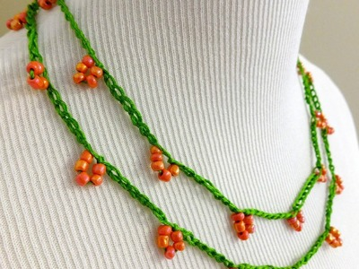 Episode 76: How to Crochet the Coral Blossom Necklace