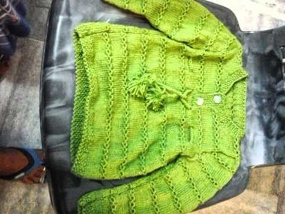 Hand knitted sweaters for kids