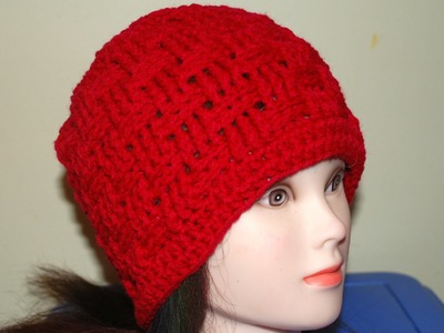 How to Crochet a Basket Weave Hat (All Sizes) Part II