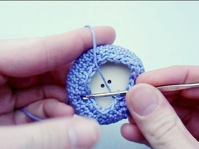How to Crochet Buttons a Different Way