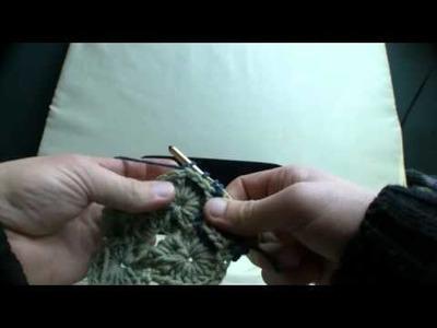 How To Crochet Catherine Wheel Throw 2