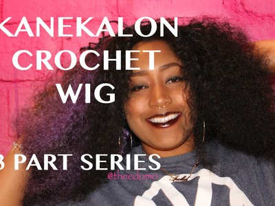 How To: Kanekalon Crochet Wig Part 1: Hair | 53