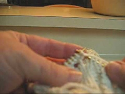 How to Make a Bobble in Cable Knitting