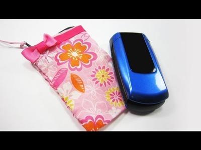 How to make a cellphone bag - EP