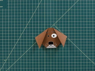 How to Make a Dog | Origami