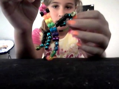 How to make a dragon out of beads part 2