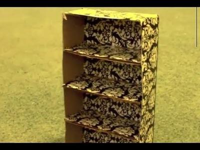 How to Make Doll Bookshelves