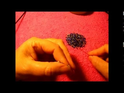 How to make e ring with seed beads 10 and 3 colors#01