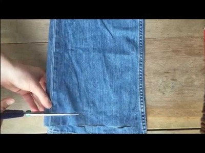 How to Make Jeans Yarn: A Free Tutorial Video