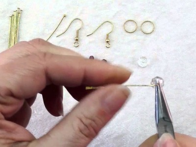 How To Make Rings & Crystals Dangle Earrings