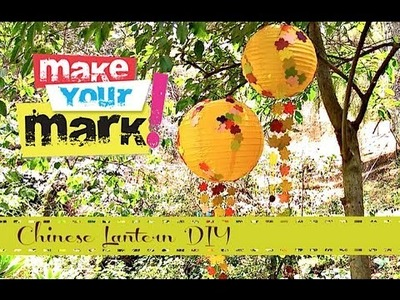 How to: Paper Lantern Party Balls DIY