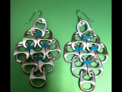 ✧How to: Pop Tab Earrings DIY by ambroset1990✧