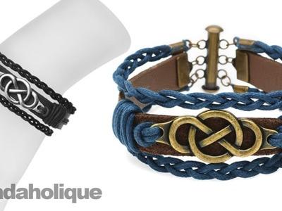 Instructions for Making the Multi-Strand Infinity Bracelet Kit
