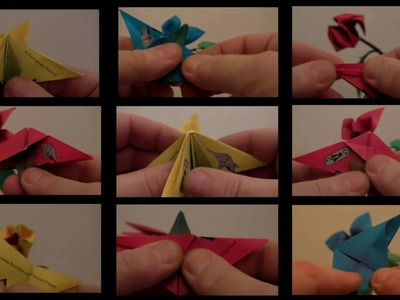 Introducing Origami Bonsai Instant Flowers!
