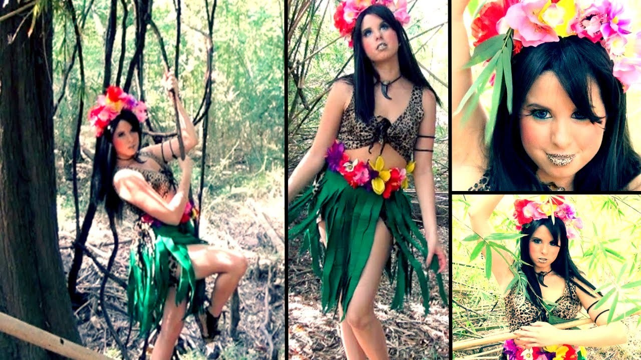 Katy Perry - Roar Music Video Inspired Makeup & DIY Costume!