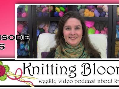 Knitting At Camp - EP166 - Knitting Blooms
