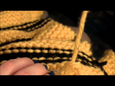 Knitting Basics: Casting On and Off, Garter Stitch, Sewing in Loose Ends