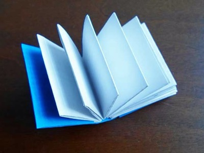 Make a Mini Origami Book - Crafts - Guidecentral