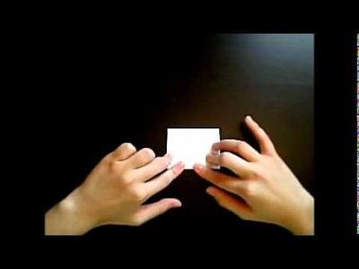 Origami lesson 1: Bricks. !