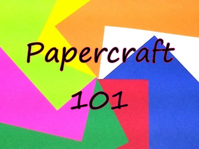 Papercraft 101 by feelinspiffy (Papercraft)