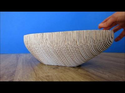 Papercraft - fruit bowl (semdesign) - dutchpapergirl