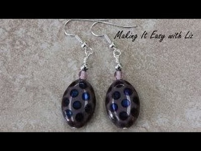 Perfect Wire Wrapped Loops Part 2- Earrings