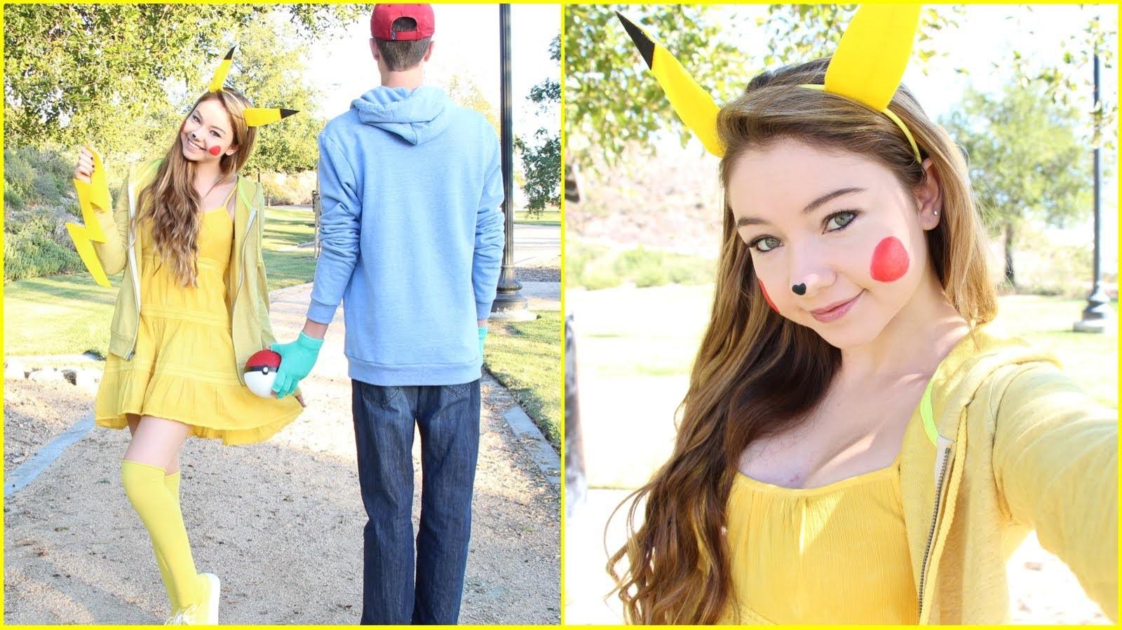 Pikachu DIY Halloween Costume!