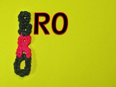 Rainbow Loom Brother (BRO) Charm Design (DIY Mommy)