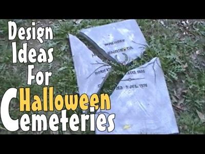 Spooktacular DIY Halloween Decoration Ideas & Inspirations For Making Prop Tombstones & Gravestones