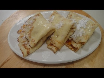 Thai Crepes with Papaya and Mango Filling | Sanjeev Kapoor Khazana