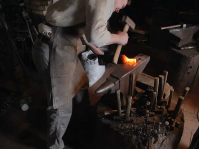 The Birth Of A Tool. Part 2. Chisel Making (by John Neeman Tools)