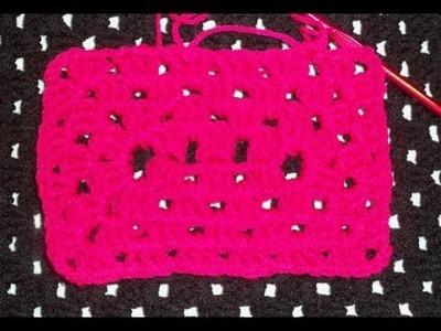 TUTORIAL: Crochet Granny Rectangle