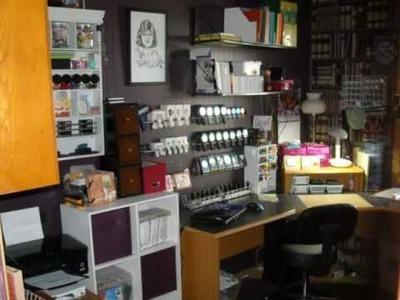 Updated craft room 2011
