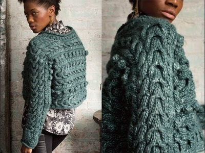 #21 Textured Pullover, Vogue Knitting Holiday 2012