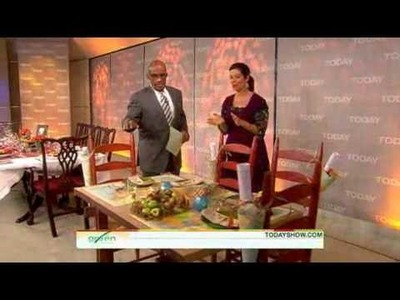 Annette Joseph Today Show DIY Tips for Decorating Your Thanksgiving Table