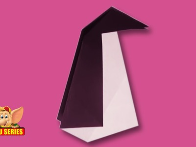 Arts and Crafts - Origami - Origami - Make a Penguin