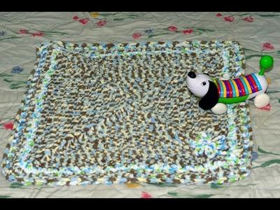 Baby Afghan. Baby blanket crochet tutorial Tamil
