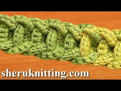 Crochet Braided Cord Tutorial 56 Crochet Belts Necklaces Bracelets