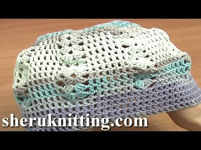 Crochet  Scarf with Hat  Tutorial 4 Part 3 of 3