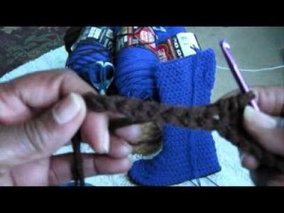 Crochet Sole Pt 1.wmv