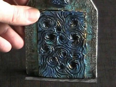 D&D magical door crafted with multiple techniques (The DM's Craft, Short Tip, EP39)