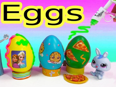 Disney Frozen CookieswirlC Pizza Easter Egg Playdoh Frosting DohVinci DIY Play Doh Vinci Fun 2 Craft
