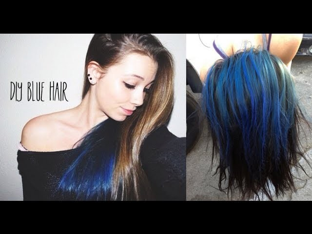 DIY: Blue Hair
