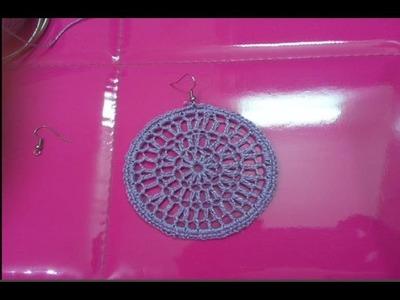 DIY Crochet Earrings #1