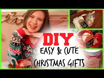 DIY: EASY & CUTE CHRISTMAS GIFTS || Danielle Marie