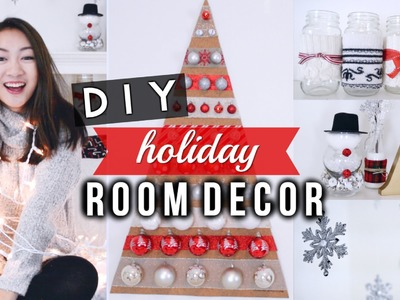 DIY Holiday Room Decorations ❄ Easy & Cute!