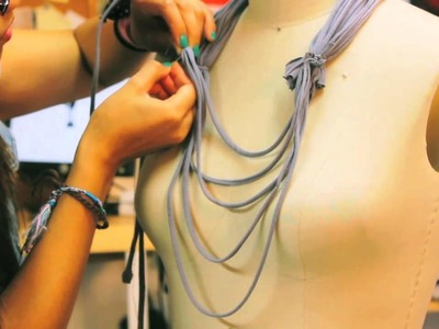 DIY: Make a T-Shirt into a Rope Scarf