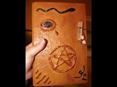 DIY:  Making a Spell Book for Halloween