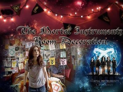DIY Mortal Instruments Room Decoration