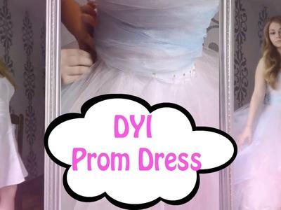 DIY Prom Dress